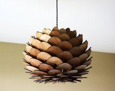 lamp shade design / lampshade design / luminaire design / abat jour design / suspension en bois /  light design bois wood