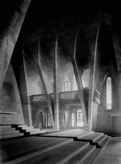 DOMINIKUS BÖHM Prish Church Christ König, Bischofsheim. Germany 1926 #vintage