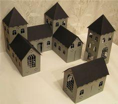 CASITA DE PAPEL: dollhouse paper: gazebos by Monica