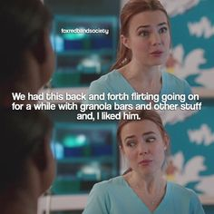 "#RedBandSociety 1x10 ""What I Did For Love"" - Nurse Brittany"