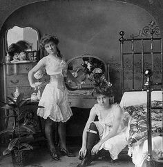 old west saloon girls, The raciest picture ever to appear on Sempringham.