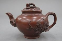 CHINESE CLAY TEA POT with seal mark