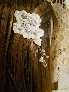 Perfect head piece to go with a birdcage vale