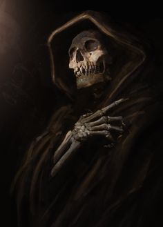 reaper by michel voogt on ArtStation.