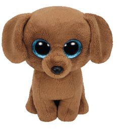 TY Beanie Boo Plush - Dougie the Dog - You can find Beanie boos and more on our website.TY Beanie Boo Plush - Dougie the Dog - Ty Beanie Boos, Beanie Babies, Beanie Boo Dogs, Ty Stuffed Animals, Plush Animals, Animals Dog, Big Plush, Cute Plush, Ty Peluche