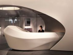 DIZAJN CAFE | ROCA LONDON GALLERY BY ZAHA HADID
