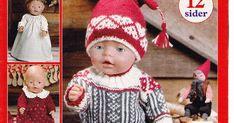 RECEITA TRICÔ FÁCIL Baby Born Revista Tricô e Costura Bonecas Ideias para roupas de bonecas Baby Born, Crochet Hats, Couture, Fashion, Sewing Dolls, Doll Outfits, Tricot, Craft, Ideas