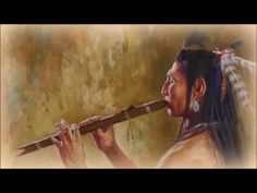 Artist James Ayers presents Allure of the Flute showing a Crow man playing a Native American flute. James Ayers specializes in images of Native Americans. Native American Music, Native American Warrior, Native American Artists, American Indian Art, Native American Indians, Native Americans, Warrior Symbols, Sleep Relaxation, Relaxation Meditation