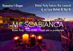 Dinner party al Moscabianca #Riccione