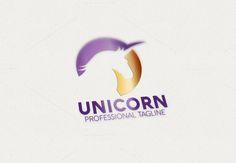 Unicorn Logo by eSSeGraphic on Creative Market