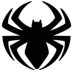 Superior Spider Man Logo By Strongcactus On Deviantart – Marvel Comics Spiderman Birthday Cake, Spiderman Theme, Black Spiderman, Superhero Birthday Party, Spiderman Face, Go Wallpaper, Diy Arts And Crafts, Coloring Pages, Stencils