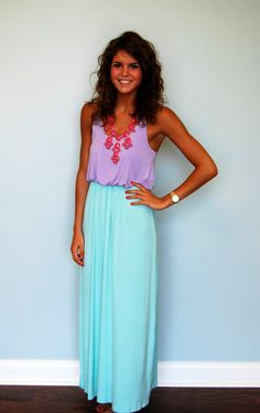 Mainstreet Maxi in Mint - Yes, please!