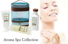 Aroma Spa Collection - A luxurious three-piece collection for an in-home aromatherapy spa experience. Indulge your body with high quality ingredients including aloe vera, lavender, white tea and essential oils found in the Relaxation Bath Salts, Relaxation Shower Gel and Relaxation Massage Lotion.