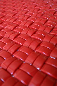 i would do this in blue or white! glass mosaic tiles that create a soft weave // Crono (Pulsar) by Mosaico+ Color Explosion, I See Red, Simply Red, Red Wallpaper, Red Aesthetic, Aesthetic Grunge, Aesthetic Vintage, Red Walls, Glass Mosaic Tiles