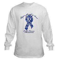 Colon Cancer Awareness Long Sleeve T-Shirt