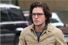 Kit Harrington in glasses