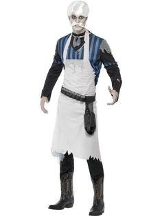 Ghost Town Bar Keeper Costume at funnfrolic.co.uk - £28.19