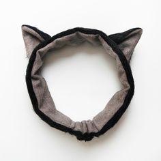Ohrenschützer für Kinder, Ohrenwärmer: Katzenohren von Szududu auf DaWanda.com