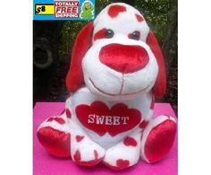 Let someone know they are sweet to you with this loveable heart dog $8.50