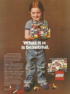 Lego's old line of toys for girls