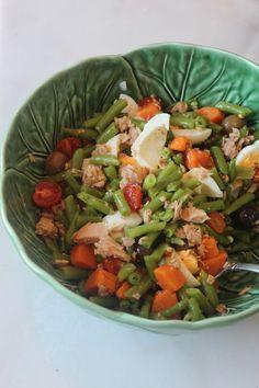 Salada Fast Food de atum, feijão verde e Batata doce | As minhas Receitas | Bloglovin'