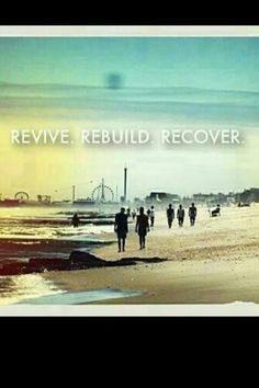 The NJ shore will be rebuilt