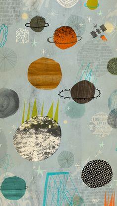 L'espai exterior, una altra meravella de Dante Terzigni #illustration