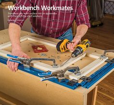 Craftsman Professional Height Adjustable Clamping Table