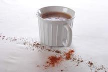 hot cocoa.  I also make mine with unsweetened almond milk or unsweetened coconut milk.