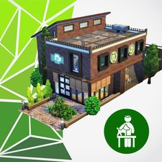 Sims 4 Recolorist — endmaske: This is The Snare House My second. Sims Building, Building Plans, Muebles Sims 4 Cc, Sims 4 Gameplay, Casas The Sims 4, Sims 4 Mods Clothes, Stair Landing, Sims 4 Build, Sims 4 Houses
