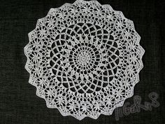 Ravelry: Project Gallery for Angel's Garden Doily pattern by Chinami Horiba