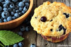 Blueberry Oatmeal Lactation Muffins - What Breastfeeding Moms Can Eat - Lactation Cookies Lactation Muffin Recipe, Lactation Smoothie, Lactation Recipes, Lactation Cookies, Lactation Foods, Baby Food Recipes, Cooking Recipes, Milk Recipes, Breastfeeding Foods
