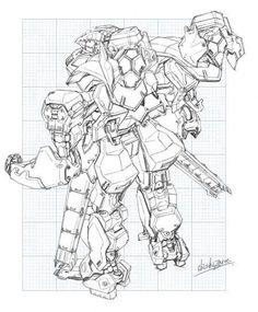 Godzilla, : Robot Godzilla Coloring Pages | Print ...
