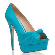 96c5582bad76a1 Wear or not wear Turquoise Heels