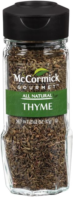 #FrostyVoxBox I'm learning all about McCormick Gourmet Thyme at @Influenster! #McCormickGourmet