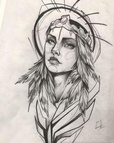 Geometric Tattoo Drawings, Dark Art Drawings, Tattoo Design Drawings, Art Drawings Sketches Simple, Tattoo Sketches, Cool Drawings, Nature Tattoos, Body Art Tattoos, Family Tattoo Designs