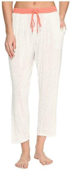 DKNY Cropped Pants (Grey Heather) Women's Pajama - DKNY, Cropped Pants, Y2713409-030, Apparel Bottom Sleepwear, Sleepwear, Bottom, Apparel, Clothes Clothing, Gift - Outfit Ideas And Street Style 2017