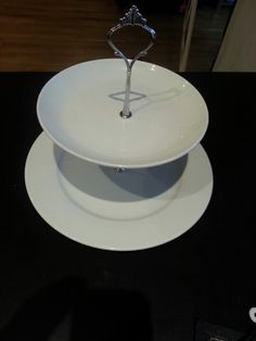 DIY Plate Cake Stand