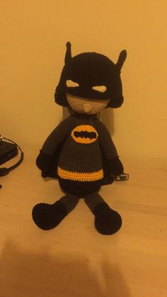 Hæklet Batmandukke