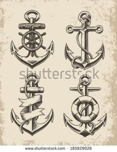 Great designs for tattoos | Tattoos | Pinterest | Anchors, Hand Drawn and Anchor Tattoo Design