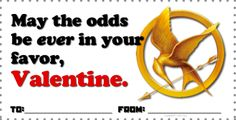 Classroom Freebies: Hunger Games Valentine Freebies!