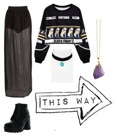 """To show u how many f's I'll never give"" by vmse1997 on Polyvore featuring Boohoo, Chicnova Fashion, Bamboo and Topshop"