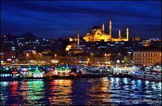 Eminönü Istanbul Süleymaniye Mosque by Sadettin  Uysal on 500px