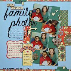 Our First Family Photos - Scrapbook.com