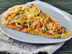 Pizza Indienne #pizza #qooq