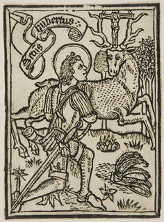 Anonymous Germany 1499  German (15th century)  St. Hubert  Print  German, 15th century  Woodcut  would have been assigned by Schreiber to No. 150