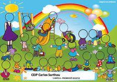 "Képtalálat a következőre: ""castillo orla"" Preschool Math Games, Preschool Boards, Class Projects, School Projects, Orla Infantil, Attendance Chart, Signature Book, Birthday Charts, Yearbook Design"