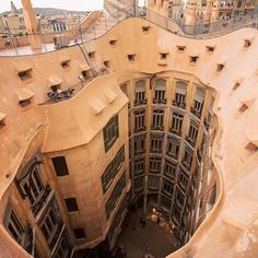 Casa Milà, popularly known as La Pedrera, is a modernist building in Barcelona, Catalonia, Spain. It was the last civil work designed by architect Antoni Gaudí, and was built from 1906 to 1912.