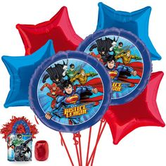 Check out Search Justice League Balloon Bouquet Kit and other party supplies…