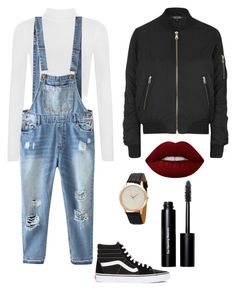 """Hipster Rocker"" by kirsten-hall ❤ liked on Polyvore featuring WearAll, Vans, Relaxfeel, Topshop, HMY Jewelry, Lime Crime and Bobbi Brown Cosmetics"